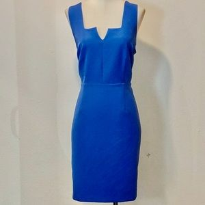 Bar III blue sleeveless dress